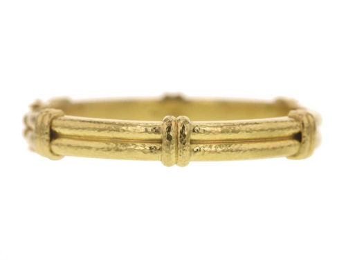 Elizabeth Locke Banded Bangle Bracelet