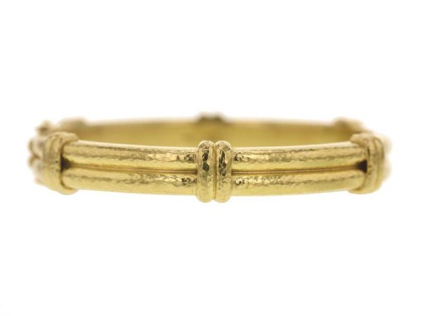 Elizabeth Locke Banded Bangle Bracelet thumbnail