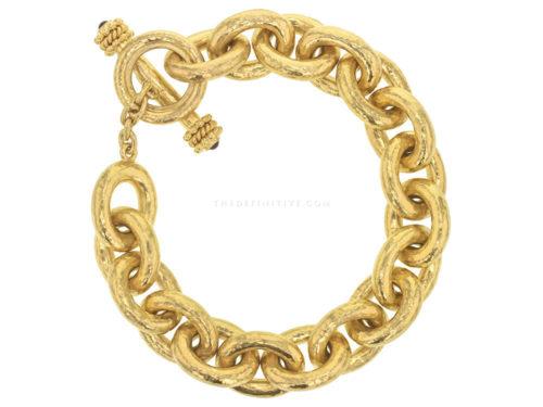 Elizabeth Locke Large Oval Link Bracelet
