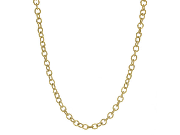 "Elizabeth Locke 17"" ""Tiny Sicilian"" Link Necklace thumbnail"