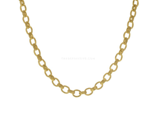 "Elizabeth Locke 17″ ""Cortina"" Link Necklace"