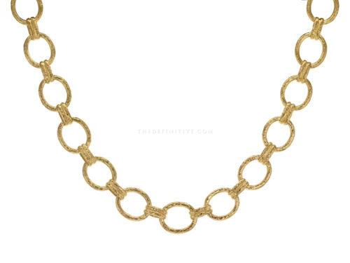"Elizabeth Locke 17″ ""Rimini"" Link Necklace"