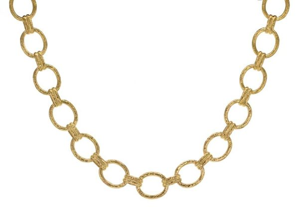 "Elizabeth Locke 17"" ""Rimini"" Link Necklace thumbnail"