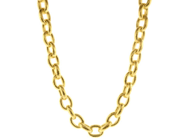 "Elizabeth Locke 17"" ""Ancona"" Link Necklace thumbnail"