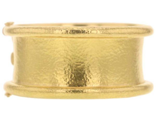 "Elizabeth Locke Hinged ""Amulet"" Bangle Bracelet thumbnail"