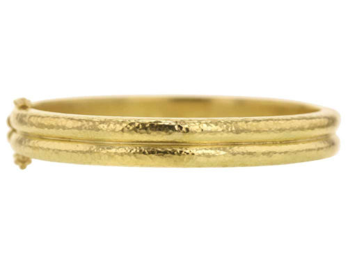 Elizabeth Locke Double Banded Bangle Bracelet