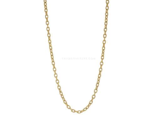"Elizabeth Locke 31″ ""Orvieto"" Link Necklace"