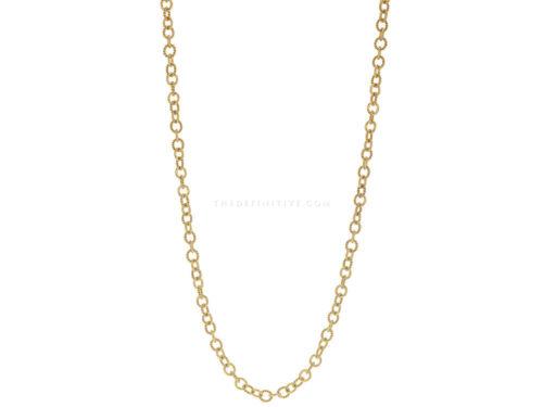 """Elizabeth Locke 35″ """"Sicilian"""" Link Necklace"""