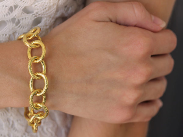 "Elizabeth Locke ""Volterra"" Link Bracelet"