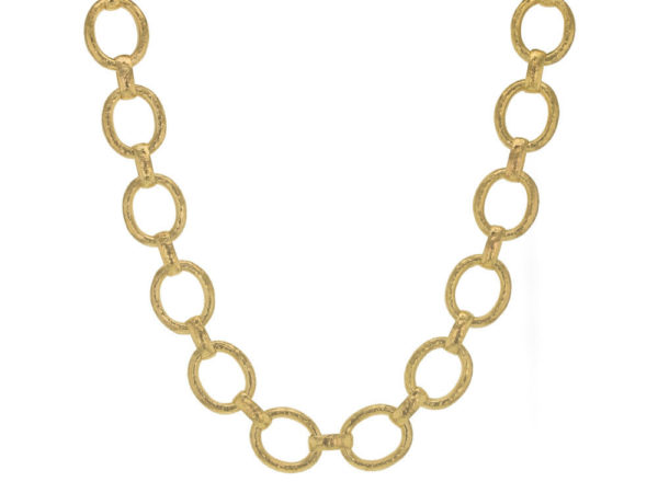 "Elizabeth Locke 17"" ""Smooth"" Link Necklace thumbnail"