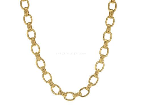 "Elizabeth Locke 17″ ""Bolzano"" Link Necklace"