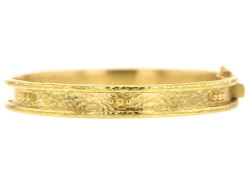 Elizabeth Locke Thin Bangle Bracelet