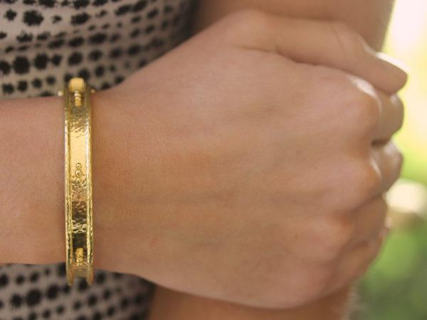 Elizabeth Locke Thin Bangle Bracelet