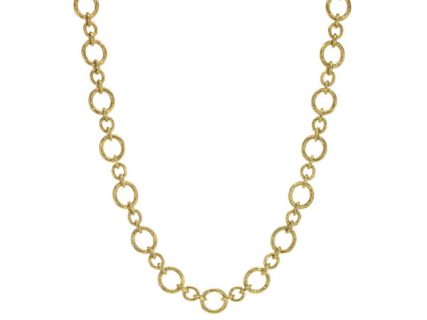"Elizabeth Locke 17"" ""Riviera"" Link Necklace thumbnail"