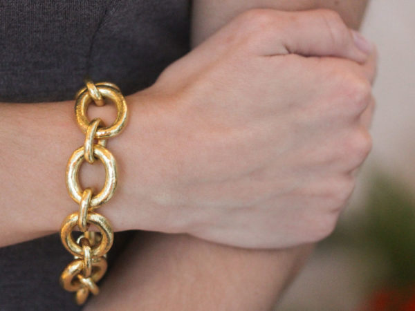 "Elizabeth Locke Oval Link ""Padova"" Bracelet"