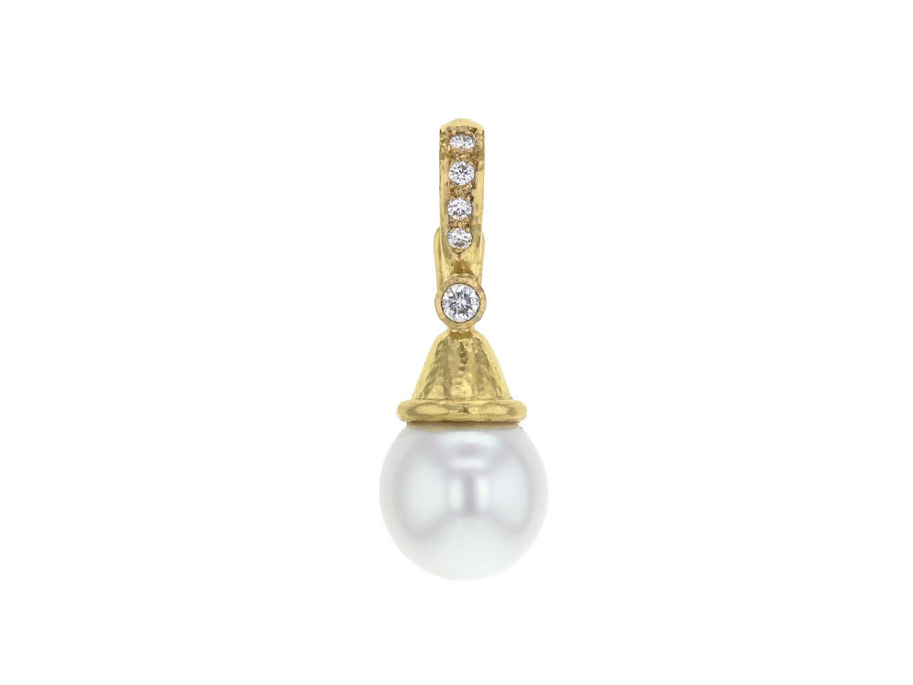Elizabeth locke south sea pearl drop pendant with acorn cap elizabeth locke south sea pearl drop pendant with acorn cap diamond bale aloadofball Choice Image