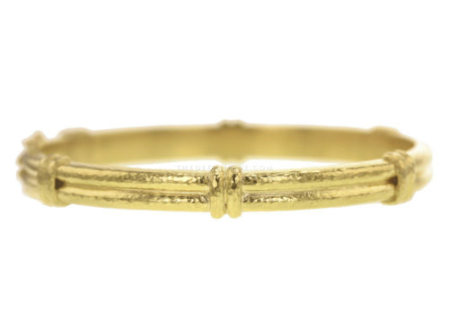Elizabeth Locke Thin Banded Bangle Bracelet