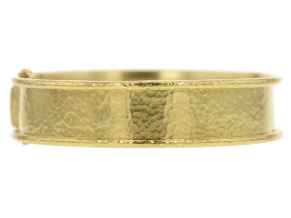 Elizabeth Locke Flat Narrow Bangle Bracelet thumbnail