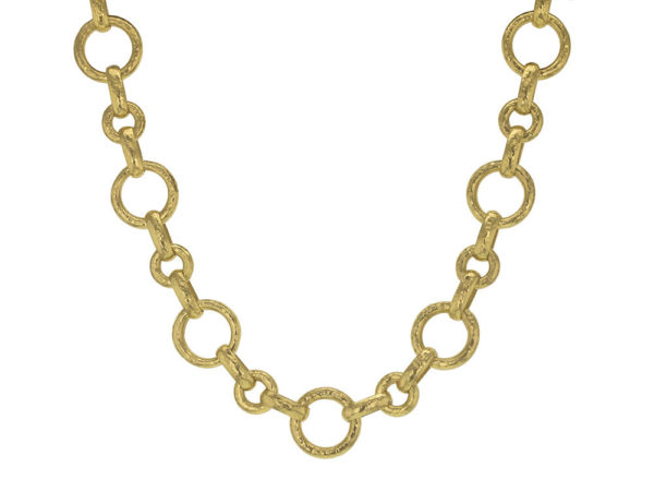 "Elizabeth Locke 17"" Large ""Siena"" Link Necklace thumbnail"