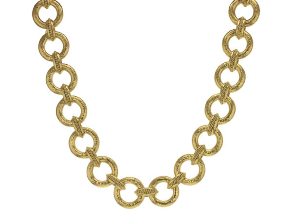 "Elizabeth Locke 17"" ""Ravenna"" Link Necklace thumbnail"