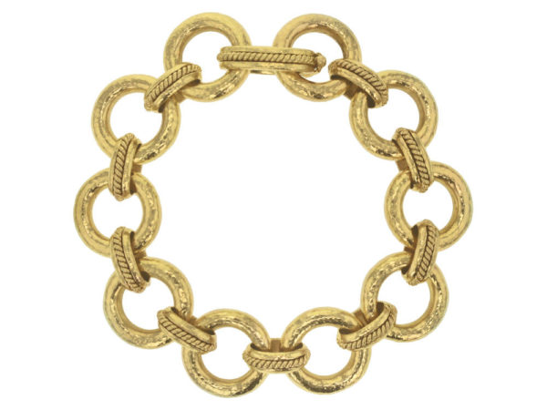 "Elizabeth Locke ""Ravenna"" Link Bracelet With Hidden Closure Clasp thumbnail"