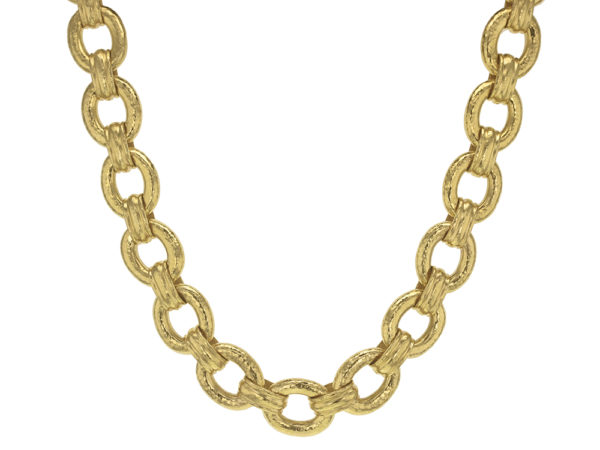 "Elizabeth Locke 17"" ""Borghese"" Link Necklace with Toggle and Ring Closure thumbnail"