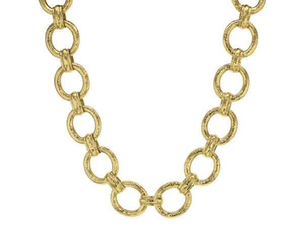 """Elizabeth Locke 17"""" """"Pisa"""" Link Necklace with Toggle and Ring Closure thumbnail"""