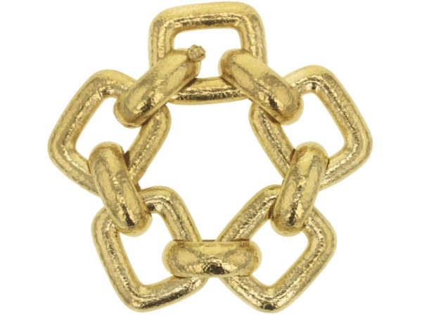 "Elizabeth Locke Large ""Livorno"" Rectangular Link Bracelet thumbnail"